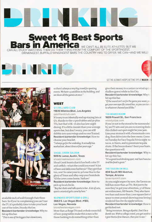 Sweet 16 Best Sports Bars in America - The Boardroom